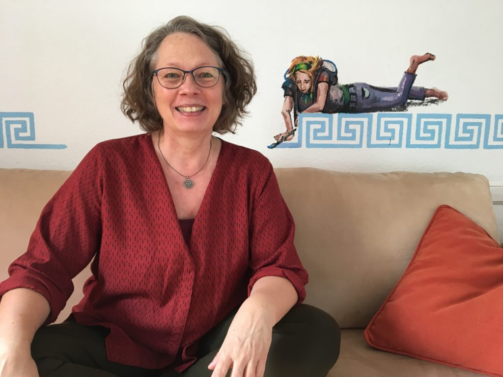 Tanztherapeutin Elke Weigel